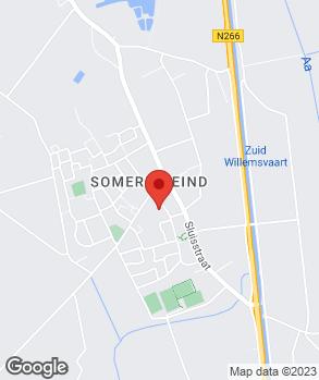 Locatie Autobedrijf Leo Hoeben op kaart