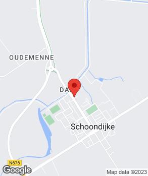 Locatie Garage M.L. de Paepe op kaart