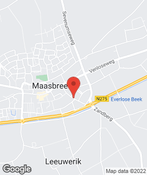 Locatie Car Service Maasbree op kaart