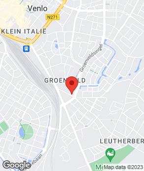 Locatie I. en F. Auto's op kaart