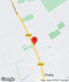 Locatie Garagebedrijf en Service Station A. van Oers op kaart
