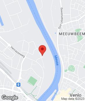 Locatie Autobedrijf Gommans en Jansen Venlo B.V. op kaart