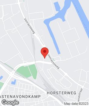 Locatie Automobielbedrijf Poelman V.O.F. op kaart
