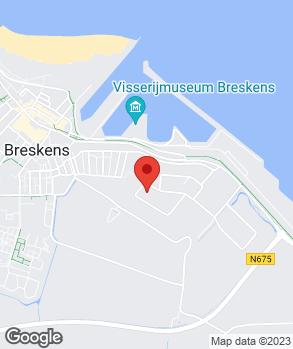 Locatie Bandencentrale Breskens op kaart