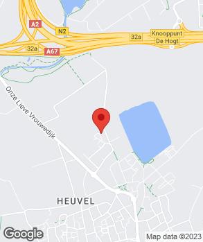 Locatie garage van Ool Waalre op kaart