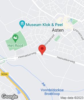 Locatie Autobedrijf Arno van Mierlo op kaart