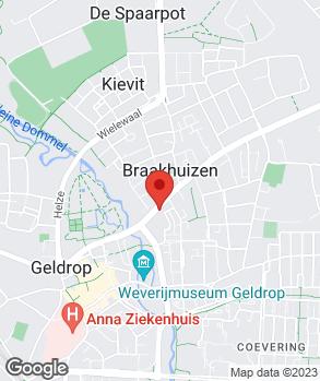 Locatie Garagebedrijf van Lieshout op kaart