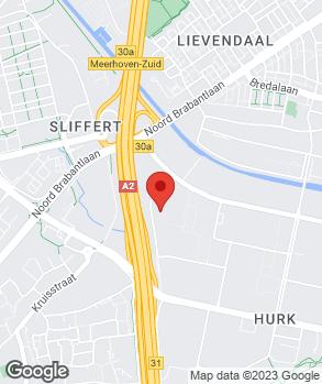 Locatie Lexus Eindhoven op kaart