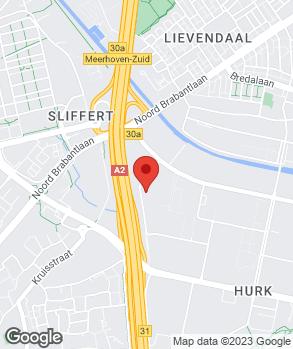 Locatie Autobedrijf van den Udenhout B.V. op kaart