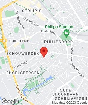 Locatie Van Dommelen op kaart
