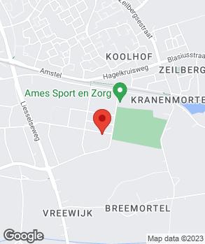 Locatie Garagebedrijf P. Achten op kaart