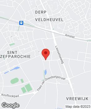 Locatie Henk Martens Auto's op kaart