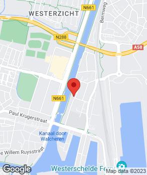Locatie Autobedrijf Walraven. op kaart