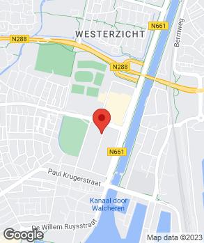 Locatie Van der Jagt-Willemse B.V. op kaart
