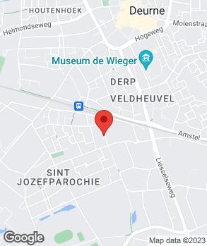 Locatie Steevens Deurne B.V. op kaart