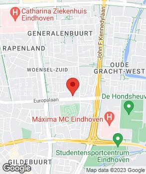 Locatie Arend Auto Eindhoven op kaart