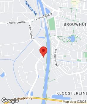 Locatie Autobedrijf Hoefnagels Helmond B.V. op kaart