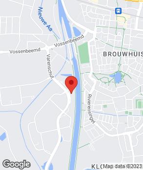 Locatie Driessen Helmond op kaart