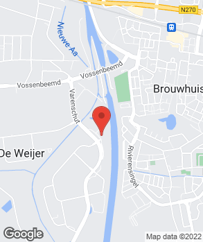 Locatie Autobedrijf J. Janssen Helmond B.V. op kaart