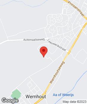Locatie Dave Mutsters autoservice op kaart