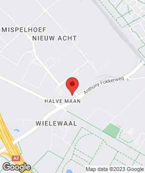 Locatie De Burgh Acht B.V. op kaart