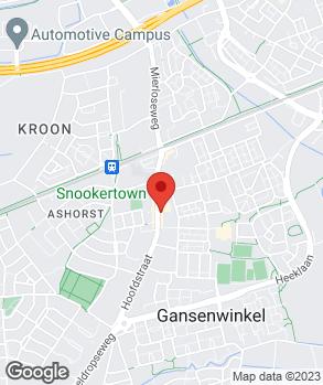 Locatie Bandenservicebedrijf v.d. Vorst op kaart