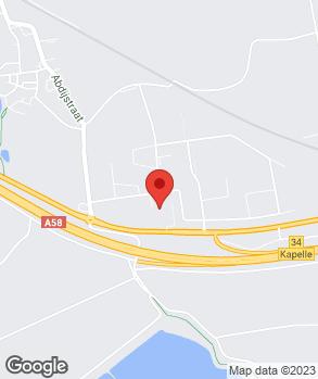 Locatie AVH op kaart