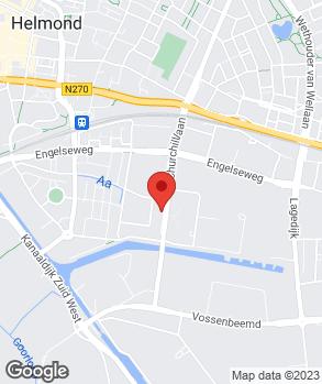 Locatie Garage Kuijten B.V. op kaart