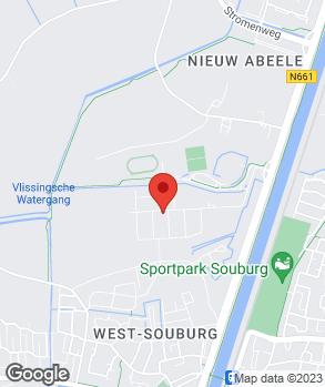 Locatie Autohuis Vlissingen op kaart