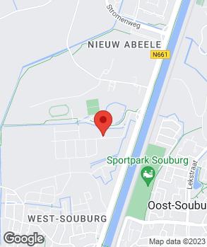 Locatie Autobedrijf J.W. de Voogd op kaart