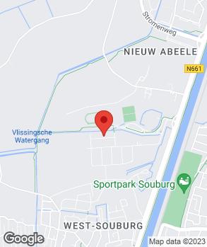 Locatie Carshop Zeeland op kaart