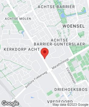 Locatie Autobedrijf Acht op kaart