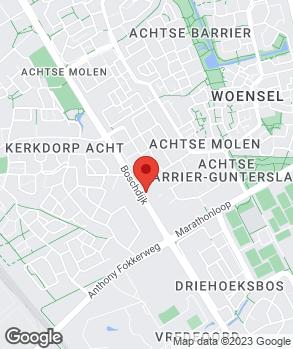 Locatie Oofwijk Auto's op kaart
