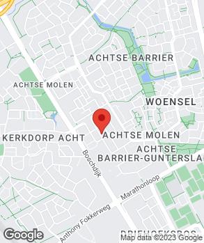Locatie Eindhovense Banden en Reparatie Service op kaart
