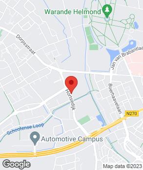 Locatie Finkenflügel/Vialle Auto's B.V. op kaart