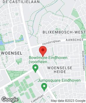 Locatie Driessen Opel Eindhoven op kaart
