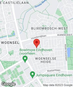 Locatie Driessen Toyota Eindhoven op kaart