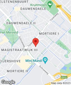 Locatie Autobedrijf van Hoepen op kaart