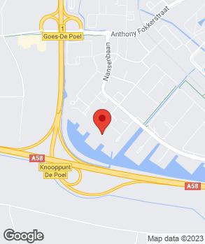 Locatie Auto Poppe De Bevelanden B.V. op kaart