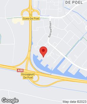 Locatie Thieu van Dorst Bedrijfswagens op kaart
