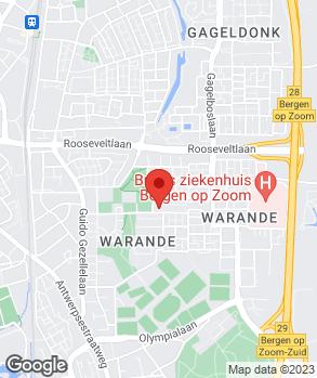 Locatie Autobedrijf Centrum op kaart