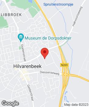 Locatie Bart van Aaken Auto's op kaart