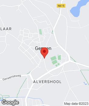 Locatie Ad Jansen Gerwen op kaart