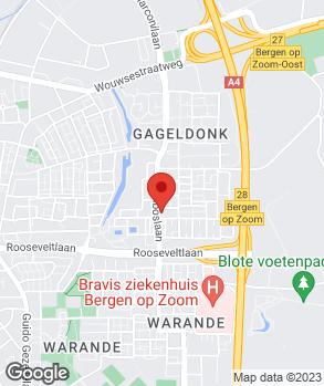 Locatie Automobielbedrijf Tholen B.V. op kaart