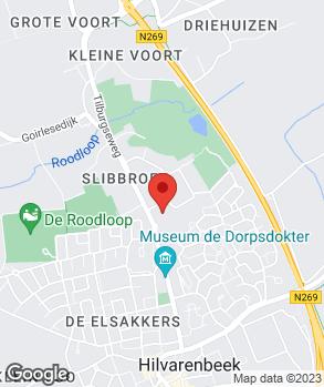 Locatie L. van Rijn op kaart