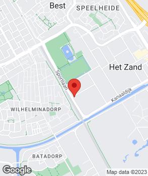 Locatie M. van Dorst Auto B.V. op kaart