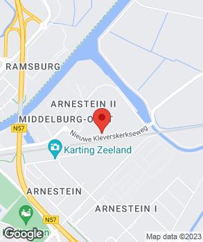 Locatie Autobedrijf P. de Hamer op kaart