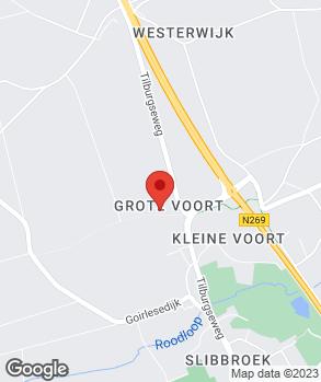 Locatie Hoozemans op kaart