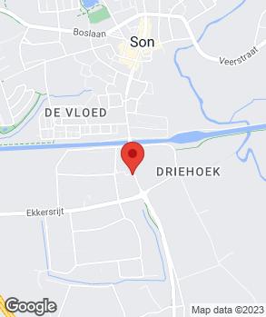 Locatie Autobedrijf v.d. Hurk B.V. op kaart