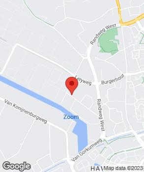 Locatie Bensi-Amar Auto's op kaart